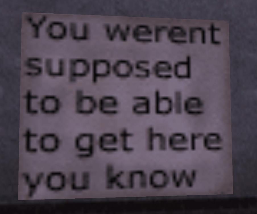 SECRET SIGN